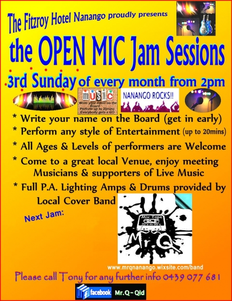Open Mike Jam Sessions