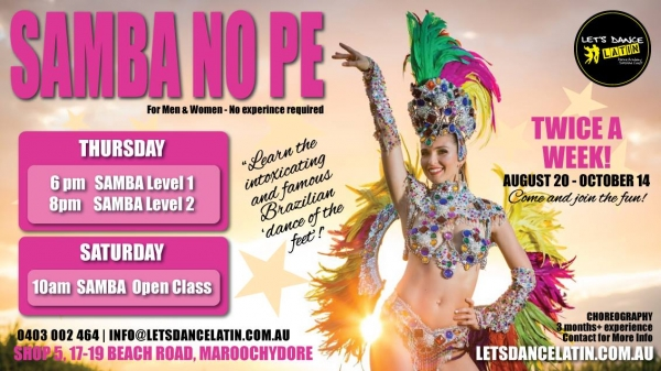 Learn to Dance Brazilian Samba no Pe
