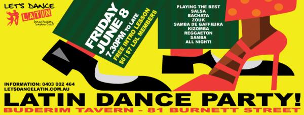 Latin Dance Party + Lesson