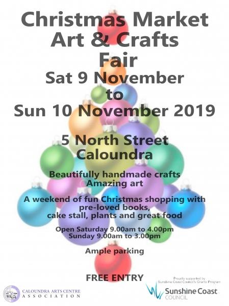Christmas Fair Caloundra Arts Centre
