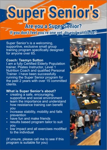 Super Seniors Class