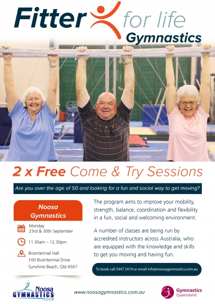 Over 50s Fitness Classes - Free