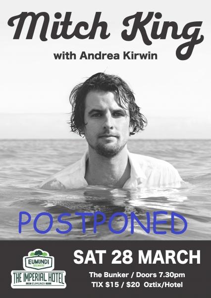 Mitch King Postponed