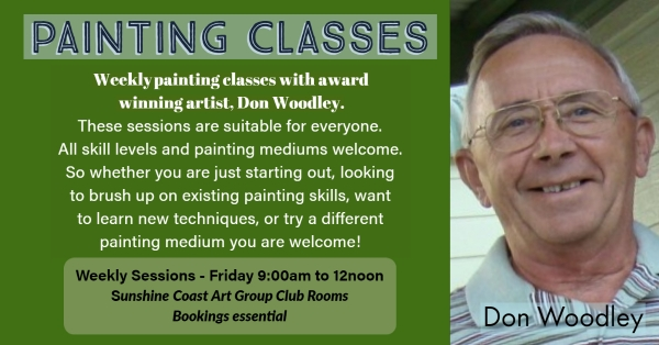Painting Classes With Don Woodley - Scag