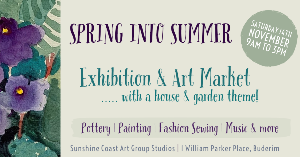 Spring Into Summer - Exhibition & Market