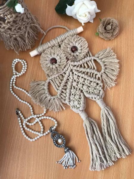 Macrame Baby Owl Class - 9am