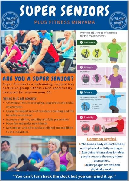 Plus Fitness Super Seniors With Taz!