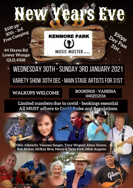 New Years Eve At Kenmore Park