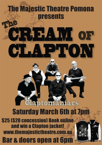 Claptomaniacs Play The Cream Of Clapton