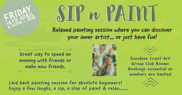 Sip N Paint - Fun Painting Class
