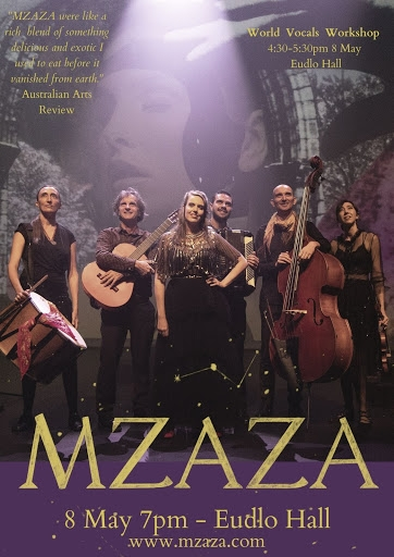 Mzaza At Eudlo Hall In Concert