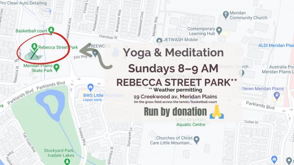 Sunday Stretch @ Rebecca St. Park