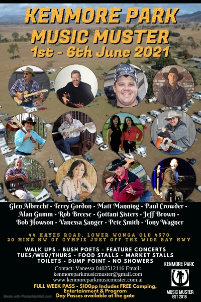 Kenmore Park Country Music Muster