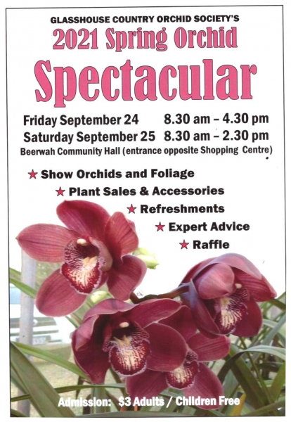 Glasshouse Country Orchid Society Show