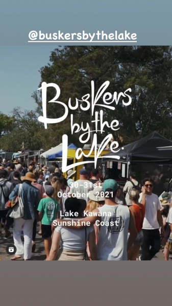 Buskers By The Lake Sunshine Coast